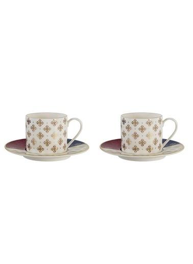 Porland Evoke 2'Li Çay Fincanı 180Cc Renkli